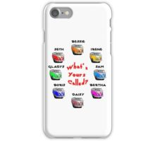 What's Yours Called? iPhone Case/Skin