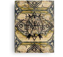 NewLengths_Cartography Design Metal Print