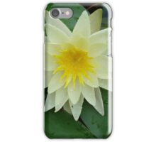 Yellow Lotus Blossom iPhone Case/Skin