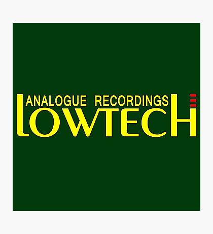 Lowtech analogue recordings yellow Photographic Print