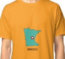 Minnesota State Heart Classic T-Shirt
