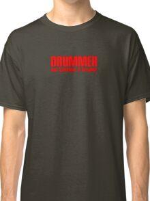drummer dreamer (red) Classic T-Shirt