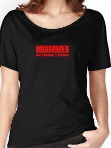 drummer dreamer (red) Women's Relaxed Fit T-Shirt