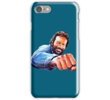 Bud Spencer Punch iPhone Case/Skin