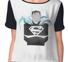 Superman Chiffon Top