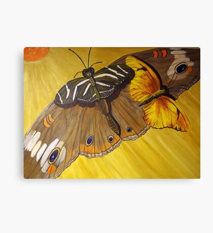 Butterfly Taxi Canvas Print