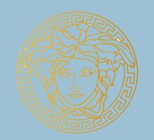 Versace Logo Baby Tee