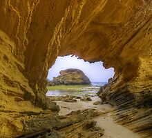 Sandstone Arch. by Bette Devine