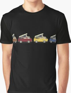 VW Westfalia Camper Van Graphic T-Shirt