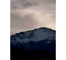 Pikes Peak, Colorado Photographic Print