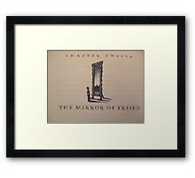 harry potter and the ps Framed Print