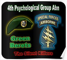 4th Psychological Group (Abn) Poster