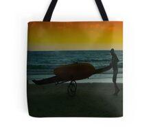 Kayak Man Tote Bag