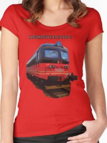 Electric Locomotive 242 288-9 Women's Fitted Scoop T-Shirt