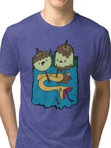 Princess Bubblegum's Rock T-shirt Tri-blend T-Shirt