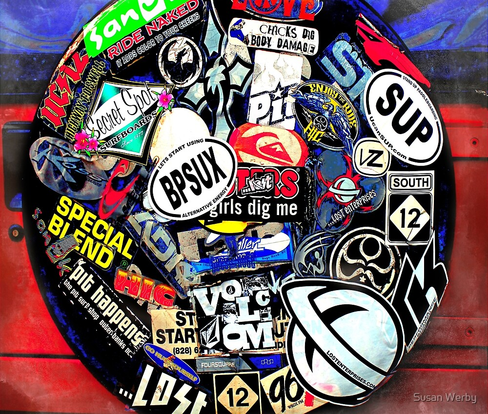 Spare Tire *pOp aRt* ~ Duvet and More! by Susan Werby