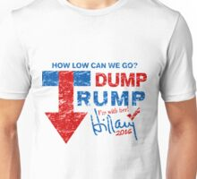 Dump Trump Hillary 2016 I'm with Her Unisex T-Shirt