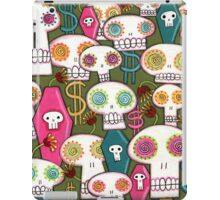 Death and Taxes iPad Case/Skin