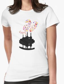 Battersea Flower Station  Womens Fitted T-Shirt