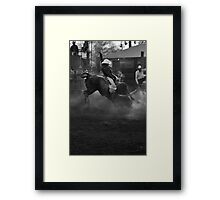 Rodeo #1 Framed Print