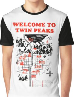 Welcome to Twin Peaks Graphic T-Shirt