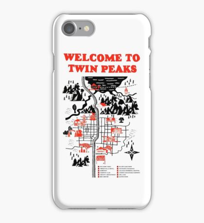 Welcome to Twin Peaks iPhone Case/Skin