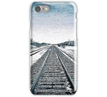 Tracks in the Snow iPhone Case/Skin