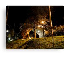 Broken Bridge, Puente Roto, Cuenca, Ecuador Canvas Print