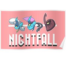 Nightfall Portrait Poster Poster
