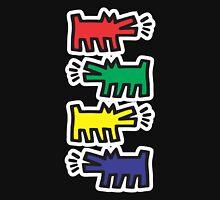 Dog Keith Haring Unisex T-Shirt