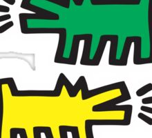 Dog Keith Haring Sticker