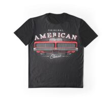 CLASSIC DODGE CHARGER MOPAR MUSCLE CAR | RED Graphic T-Shirt