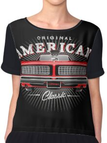 CLASSIC DODGE CHARGER MOPAR MUSCLE CAR | RED Chiffon Top