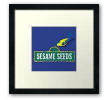 Sesame Seeds Framed Print