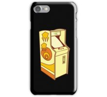 Tall arcade game console iPhone Case/Skin