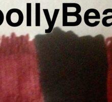 I brake for woollybears Sticker