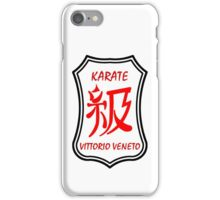 Karate Kyu Traditional Logo iPhone Case/Skin