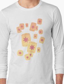 Floating Lanterns Gleam Long Sleeve T-Shirt