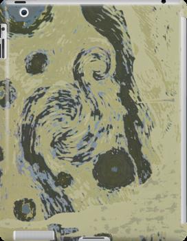 Inverted van Gogh by Lauren Kaufmann