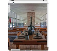 military room in 1834 iPad Case/Skin