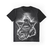 K Illuminati- no brand Graphic T-Shirt