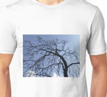 Tuscan Tree Over Clouds Unisex T-Shirt