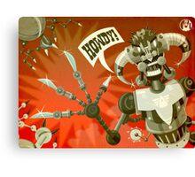 Bladebot! Canvas Print