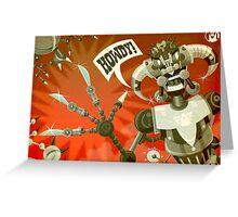 Bladebot! Greeting Card