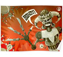 Bladebot! Poster