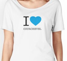 I ♥ COURCHEVEL Women's Relaxed Fit T-Shirt