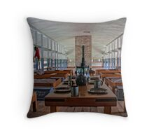 military room in 1834 Throw Pillow