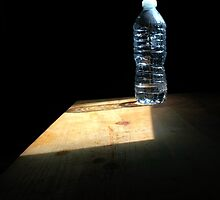 Water Bottle Still Life by Nalinne Jones