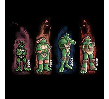 Turtles evolution Photographic Print