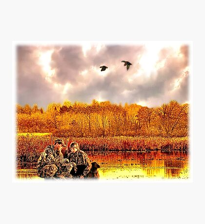 """""""Lessons of the First Hunt"""" Photographic Print"""